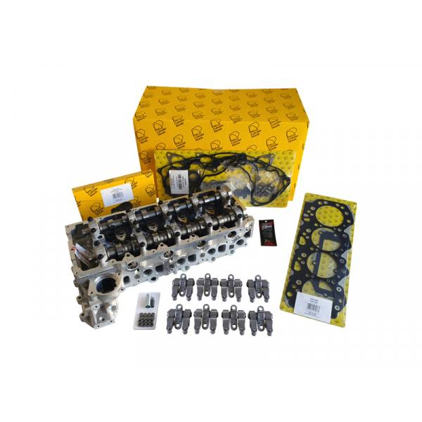 Isuzu 4JJ1 Complete Cylinder Head Kit - Ready to Bolt ON
